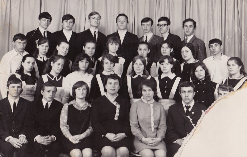 Школа №13 1971 год.