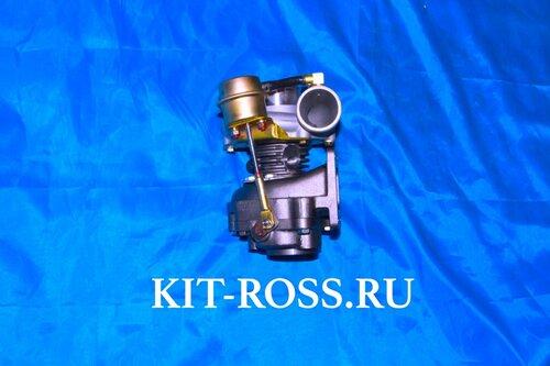 ТУРБОКОМПРЕССОР ТУРБИНА FOTON 1049 PERKINS 110 Ti T74801002 модель SJ60F-1E