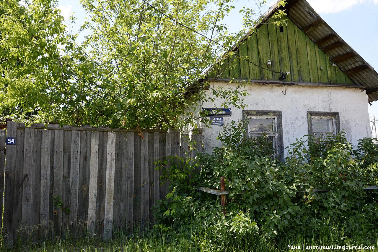 Улица  Брянская. Волотова. Гомель. Беларусь.