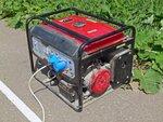 Бензиновый генератор тока