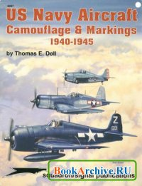 Книга Squadron/Signal Publications 6087: US Navy Aircraft Camouflage & Markings 1940-1945