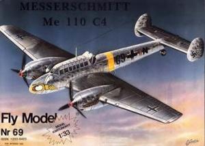 Журнал Fly Model 069 - Messerschmitt Me 110 C4