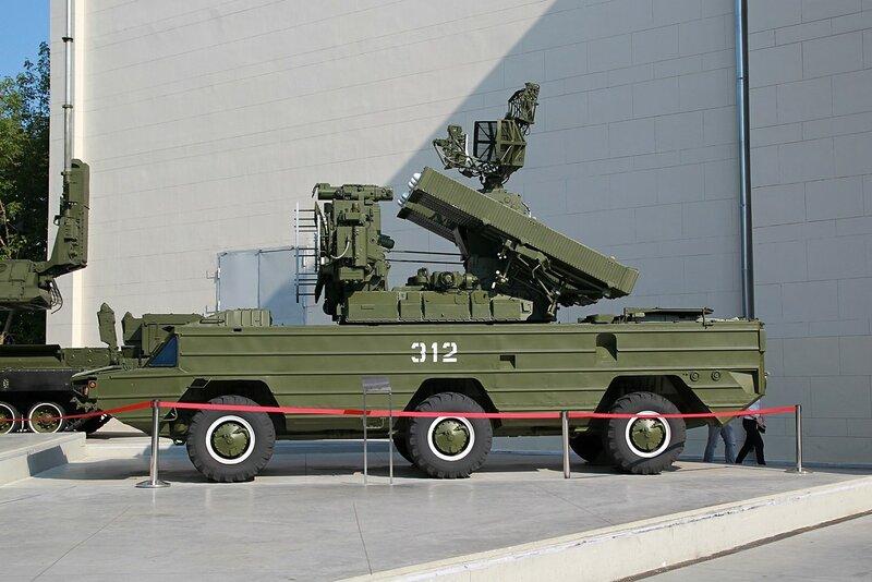 Боевая машина 9А33БМЗ зенитного ракетного комплекса «Оса-АКМ» - Военная техника на ВДНХ