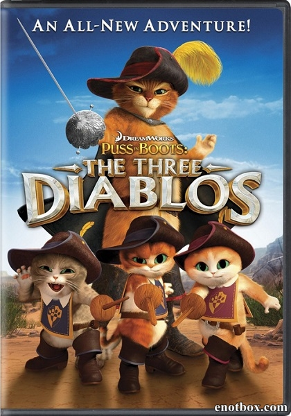 Кот в сапогах: Три Чертенка / Puss in Boots: The Three Diablos (2011/BDRip/HDRip)