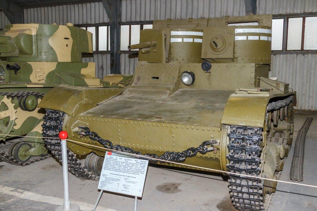 Двубашенный Т-26, Кубинка
