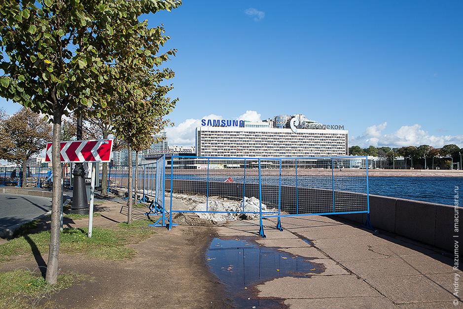 Петровская набережная место стоянки Авроры