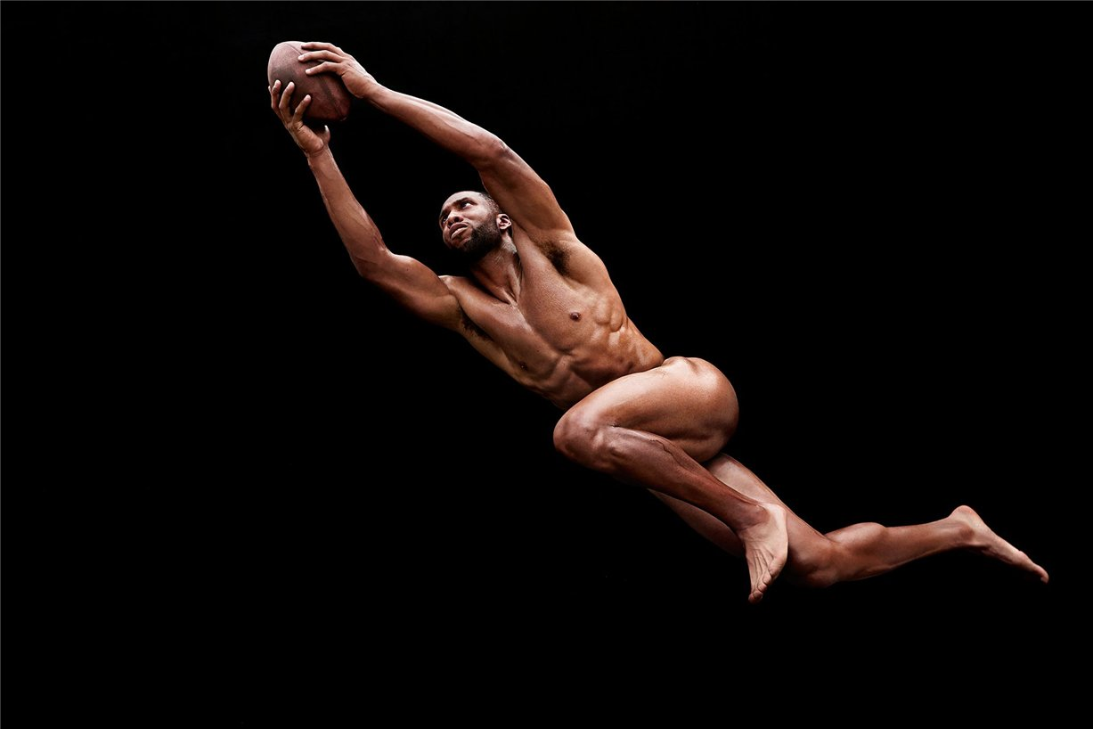 ESPN Magazine Body Issue 2014 - Larry Fitzgerald / Ларри Фицджеральд