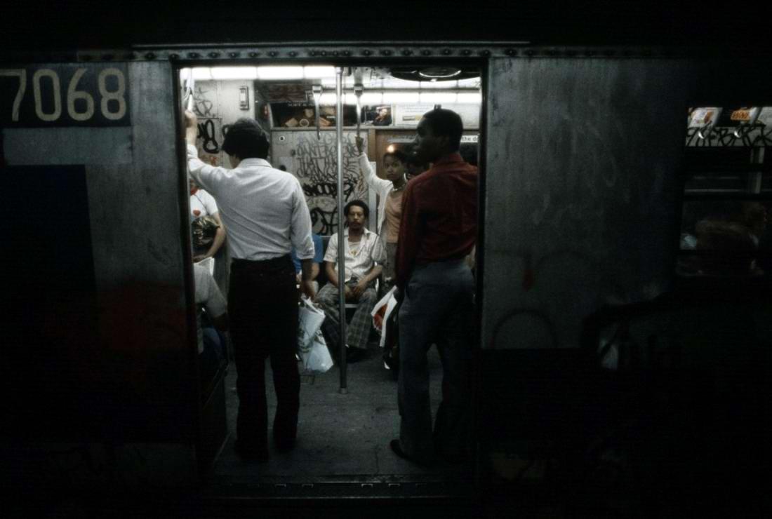 Американский фотограф Christopher Morris: Граффити и андеграунд нью-йоркского метро (8)