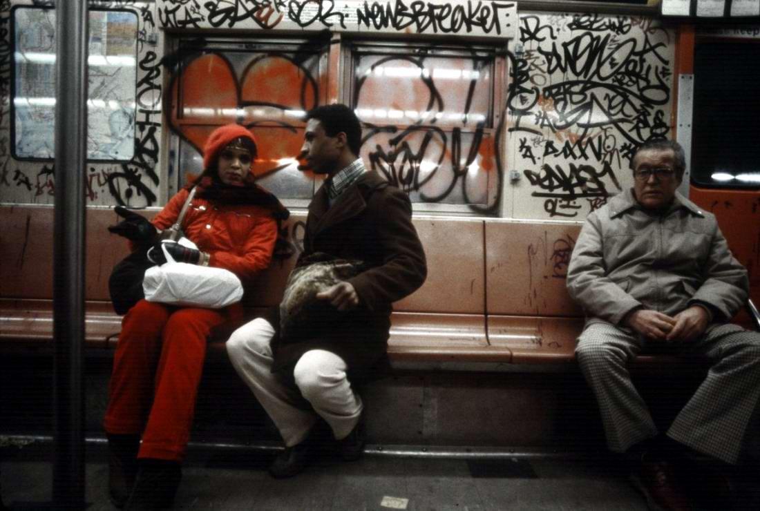 Американский фотограф Christopher Morris: Граффити и андеграунд нью-йоркского метро (28)