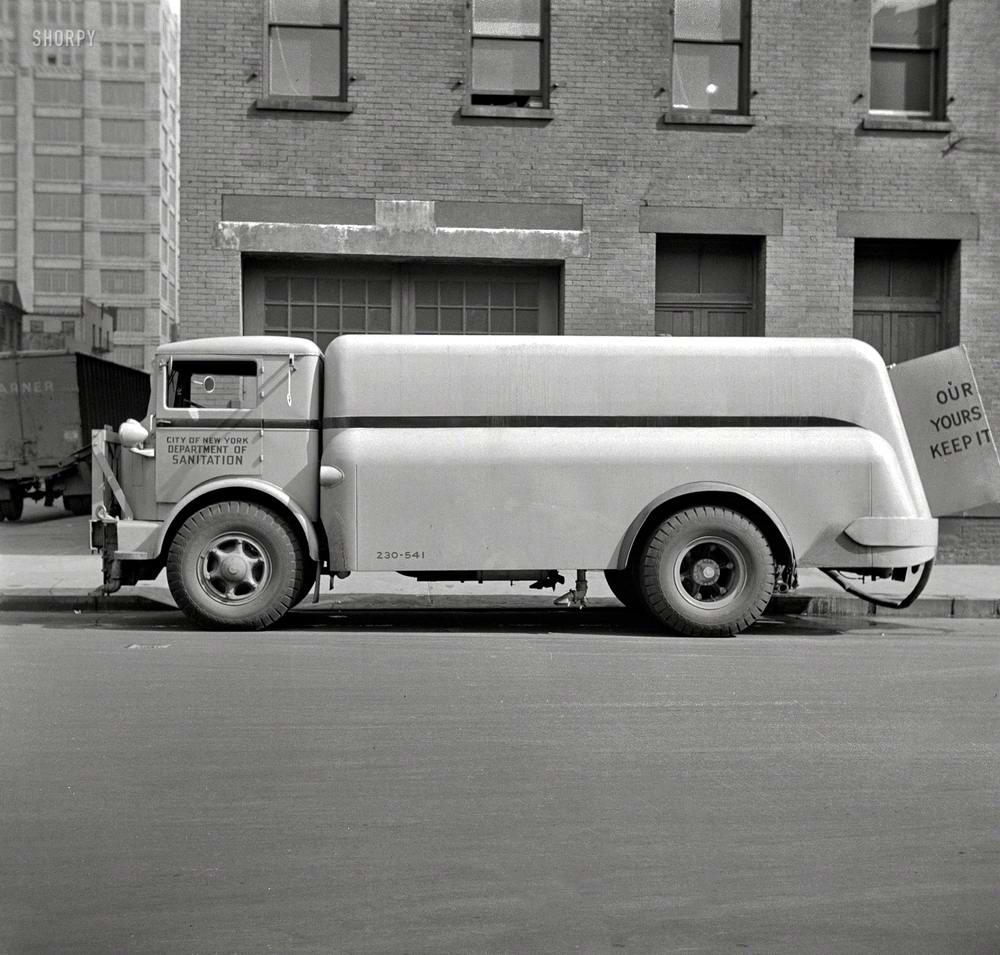 Специализированные транспортные средства начала 20-го века на снимках американских фотографов (70)