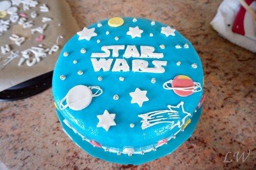 Backen Macht Freude Star Wars Torte Zur Einschulung Für Bianca