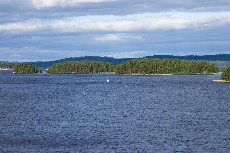озеро Пайянне (Paijanne)