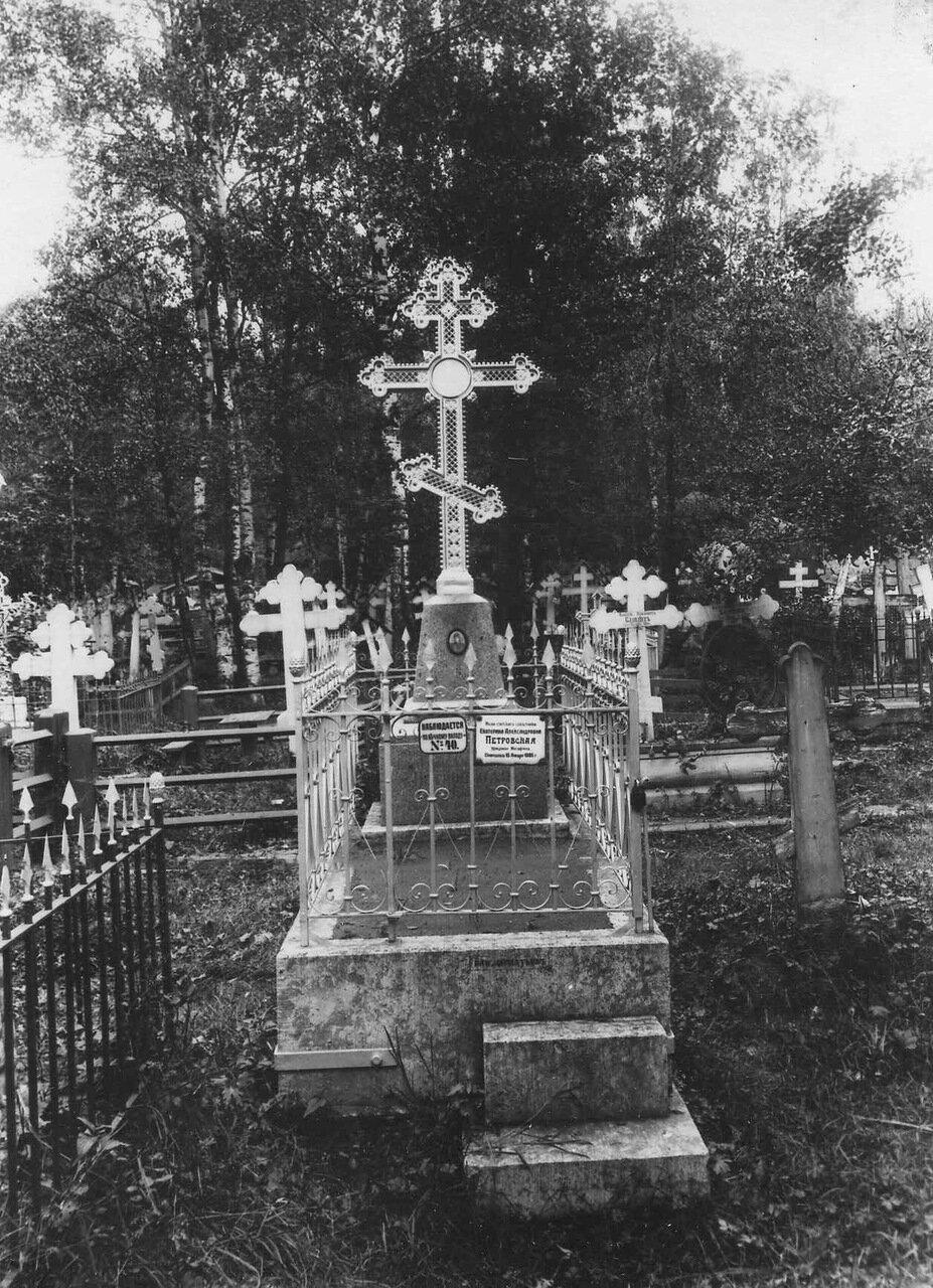 22. Вид части кладбища
