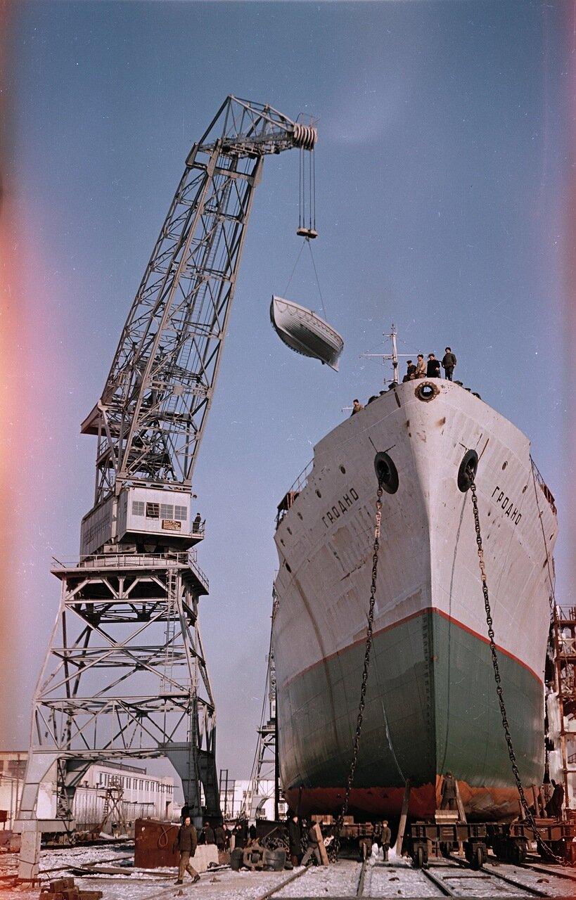 Херсон. На строительстве нового корабля
