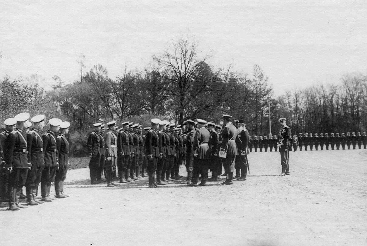 20. Прибытие императора Николая II к месту расположения войск, отправляемых на Дальний Восток. Харьков