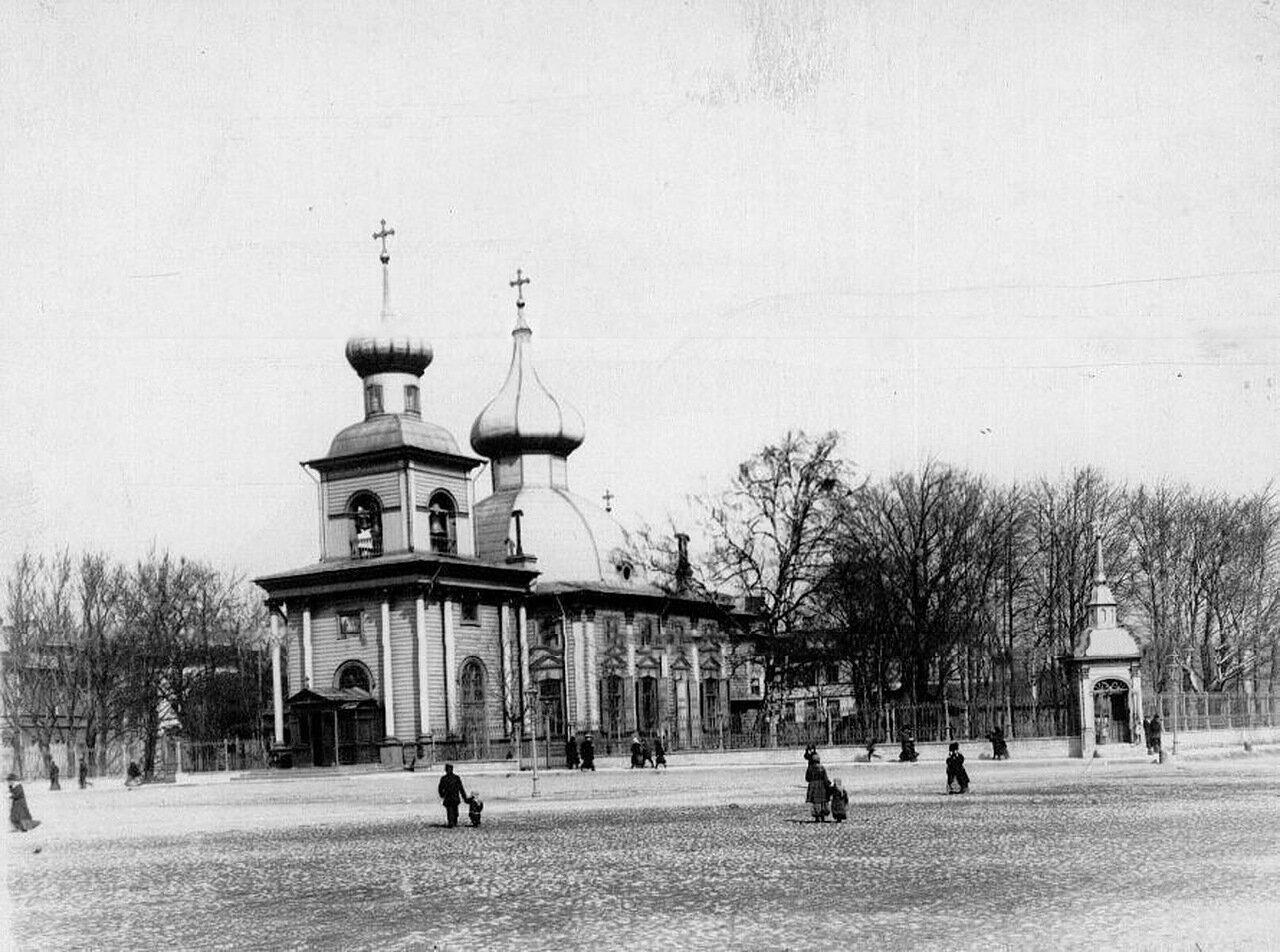 01. Общий вид собора Пресвятой Троицы. 26 октября 1903