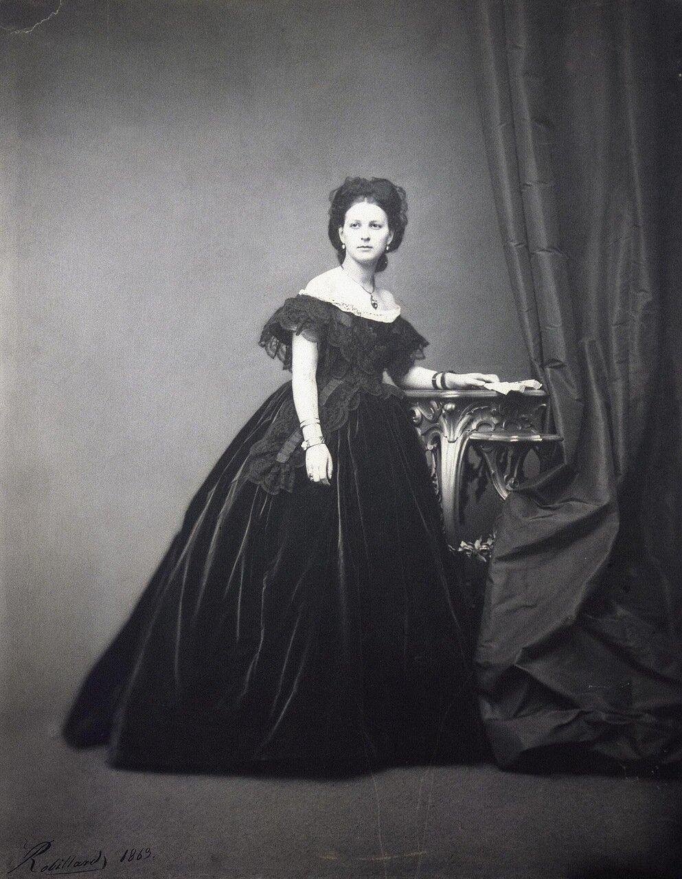 Портрет графини Софьи Бобринской. 1869