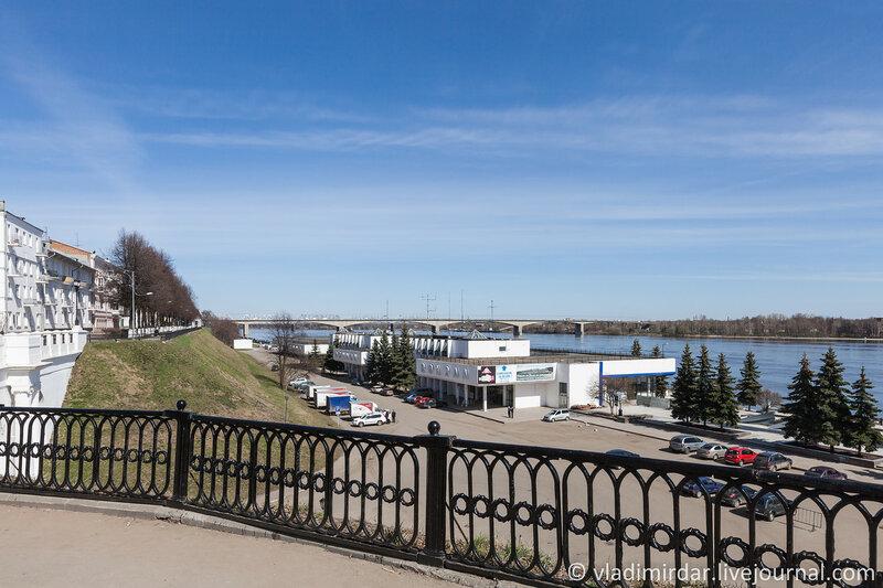 Речной вокзал Ярославля