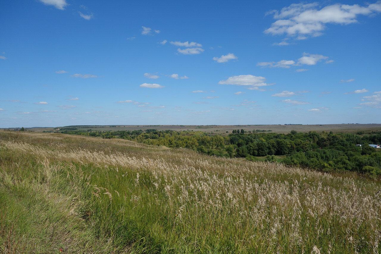 донская долина на стыке трех областей