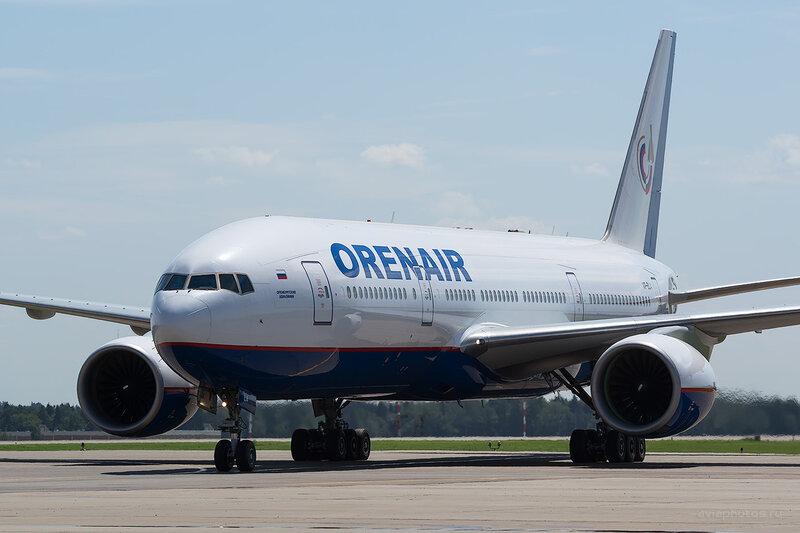 Boeing 777-2Q8/ER (VP-BLA) Orenair D805905a1
