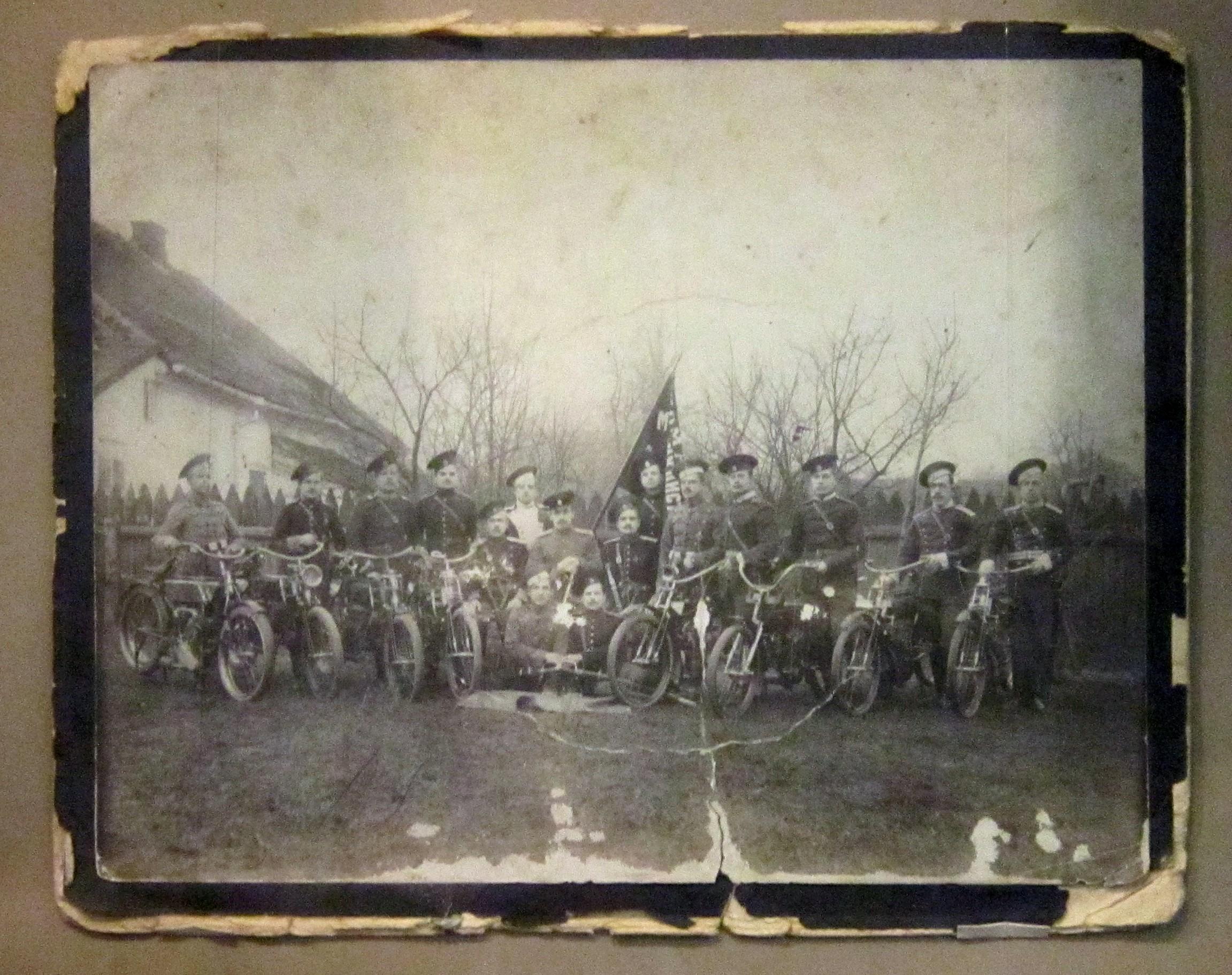 Солдаты Первой мировой.