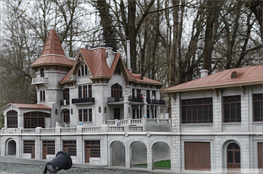 Вилла Ксения в Симеизе. Бахчисарай, парк миниатюр.