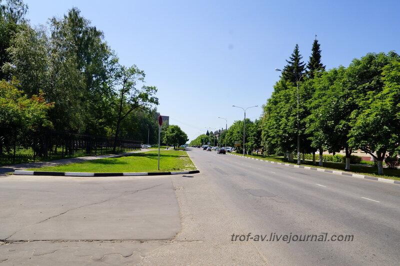 Улица Курчатова, Обнинск