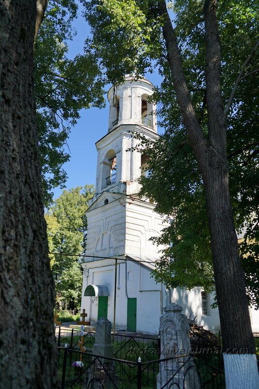Церковь Дмитрия Солунского и некрополь при ней в Рябушках