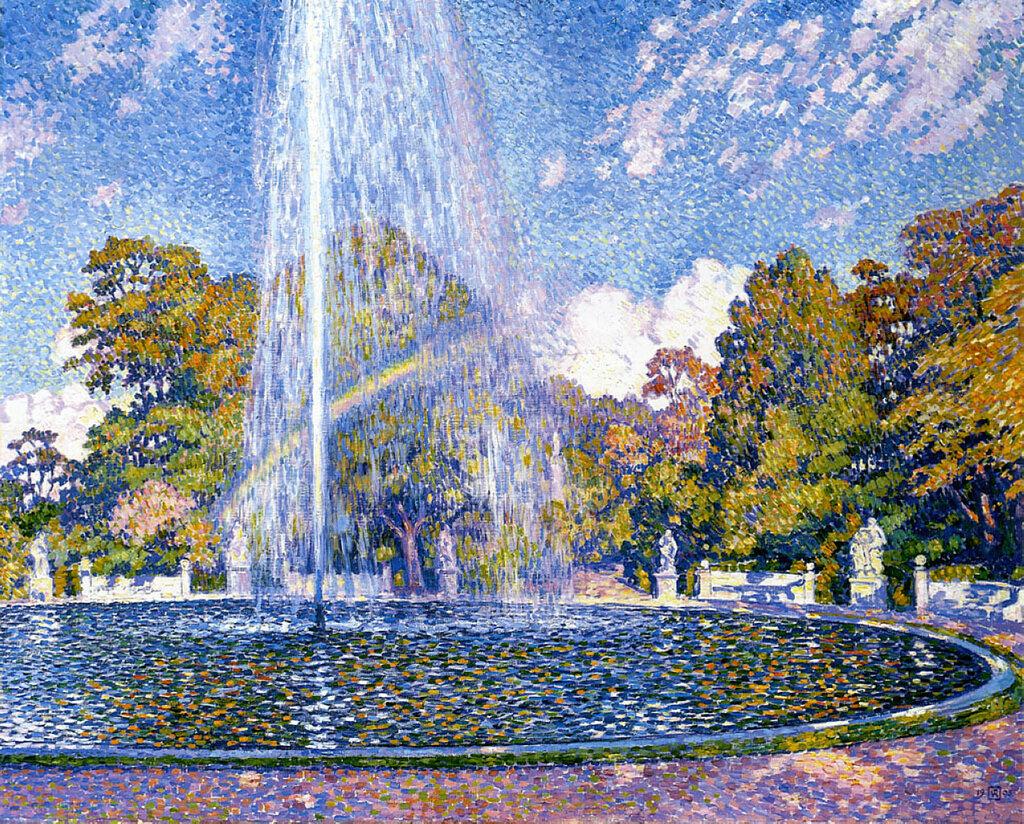 Fountain at San-Souci, Potsdam, 1903.jpg