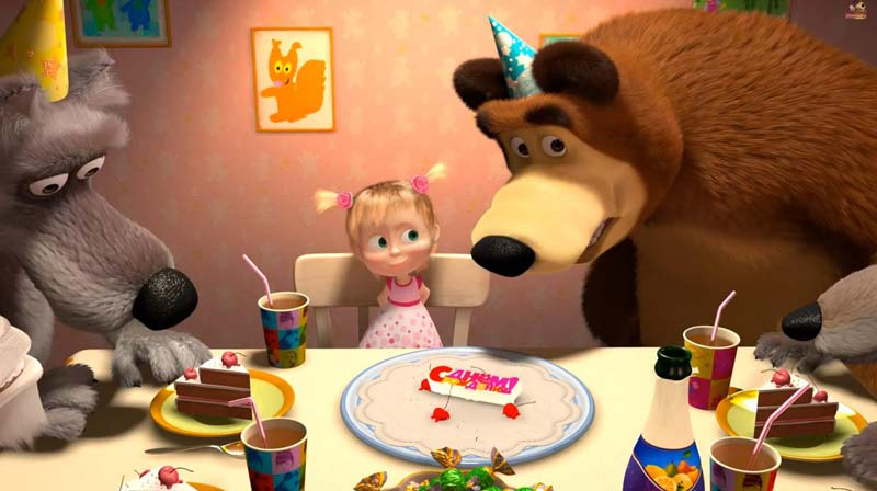 Маша и Медведь Картинки из мультфильма