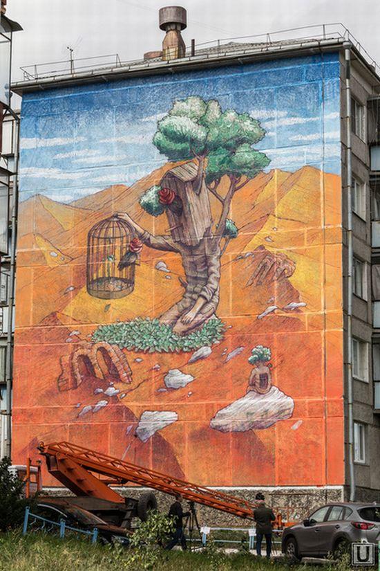 Дом на улице Советской, 24 (казанский художник Рустам Салемгараев) (03.09.2014)