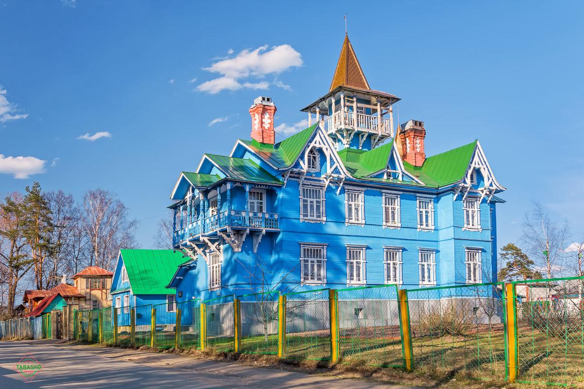 Ленинградская область, посёлок Вырица