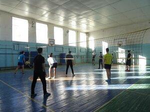 Первенство колледжа по волейболу