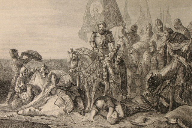 Бой Пересвета с Челубеем