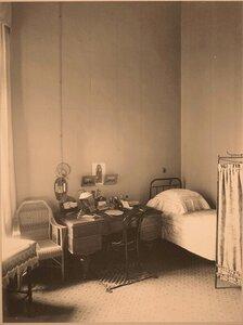 Вид части комнаты заведующей хозяйством госпиталя.