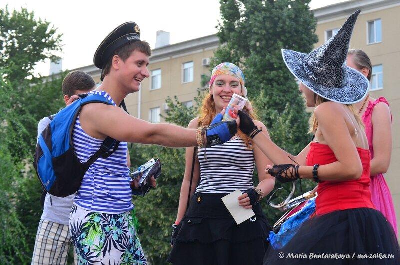 Велокарнавал, Саратов, 23 августа 2014 года