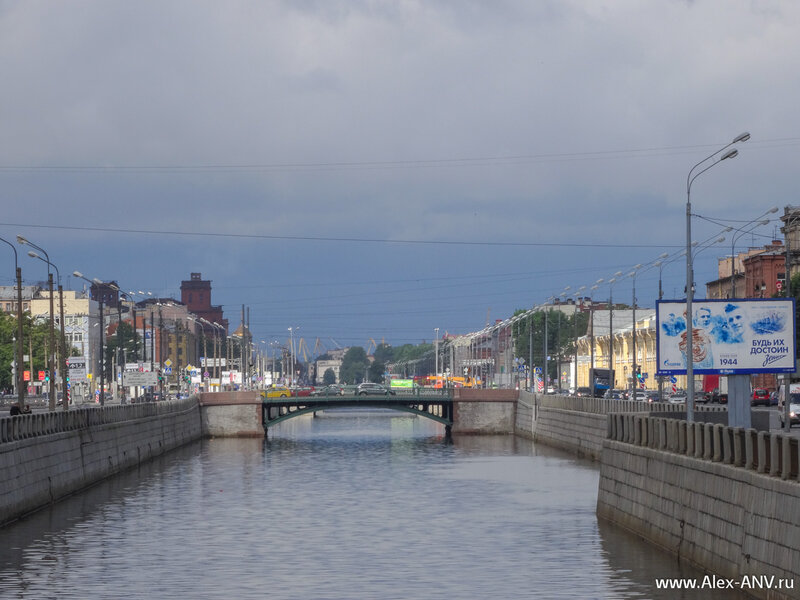 Мосты Обводного канала