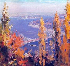 Дніпро восени. 1979.