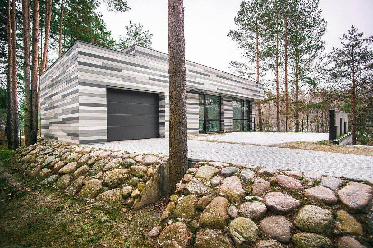 GYZA, экологичный дом, эко-дом описание, стильный частный дом фото, обзоры частных домов, дом в лесу фото, дом с видом на реку, дома в Литве обзор
