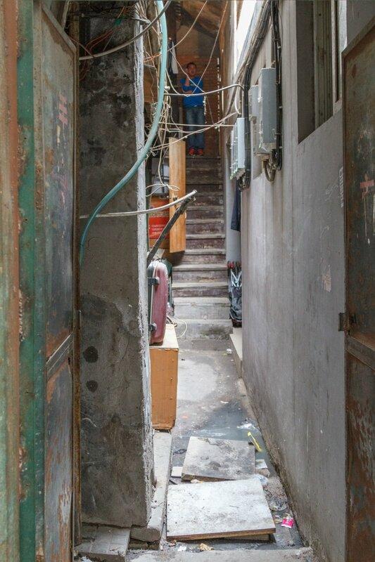 Проход между домами, Пекин