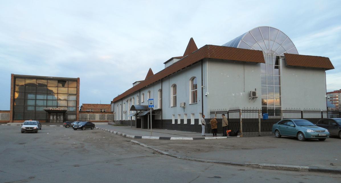 Вокзал рязань 2 схема