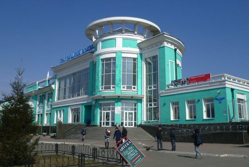 Россия, Омск - пригородный вокзал (Russia, Omsk - Suburban Station)