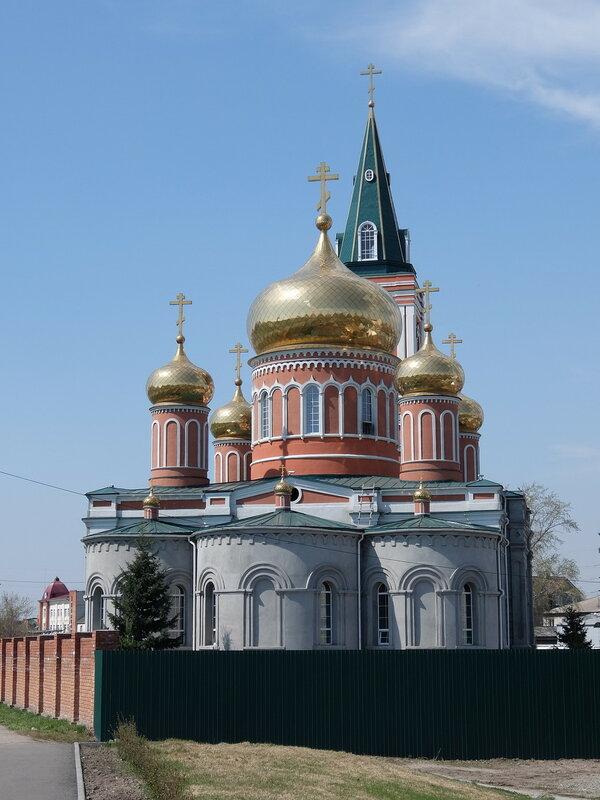 Барнаул - Знаменский женский монастырь