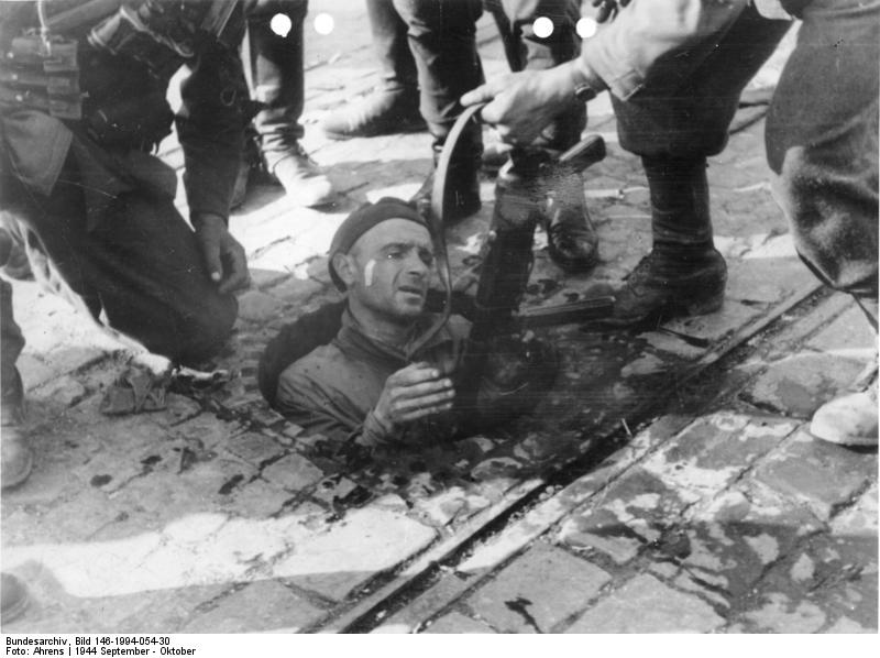 Warschauer Aufstand, polnischer Soldat