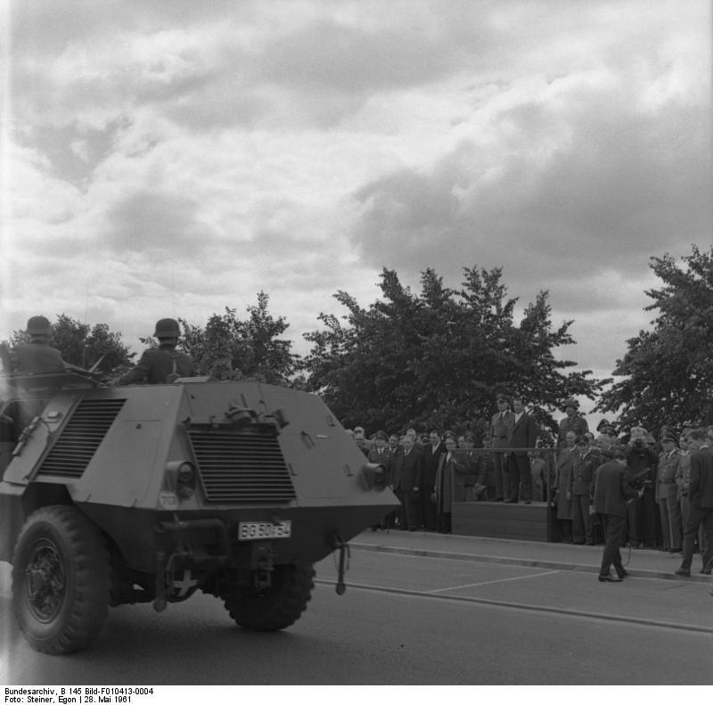 Lьbeck, Jubilдum BGS, Parade