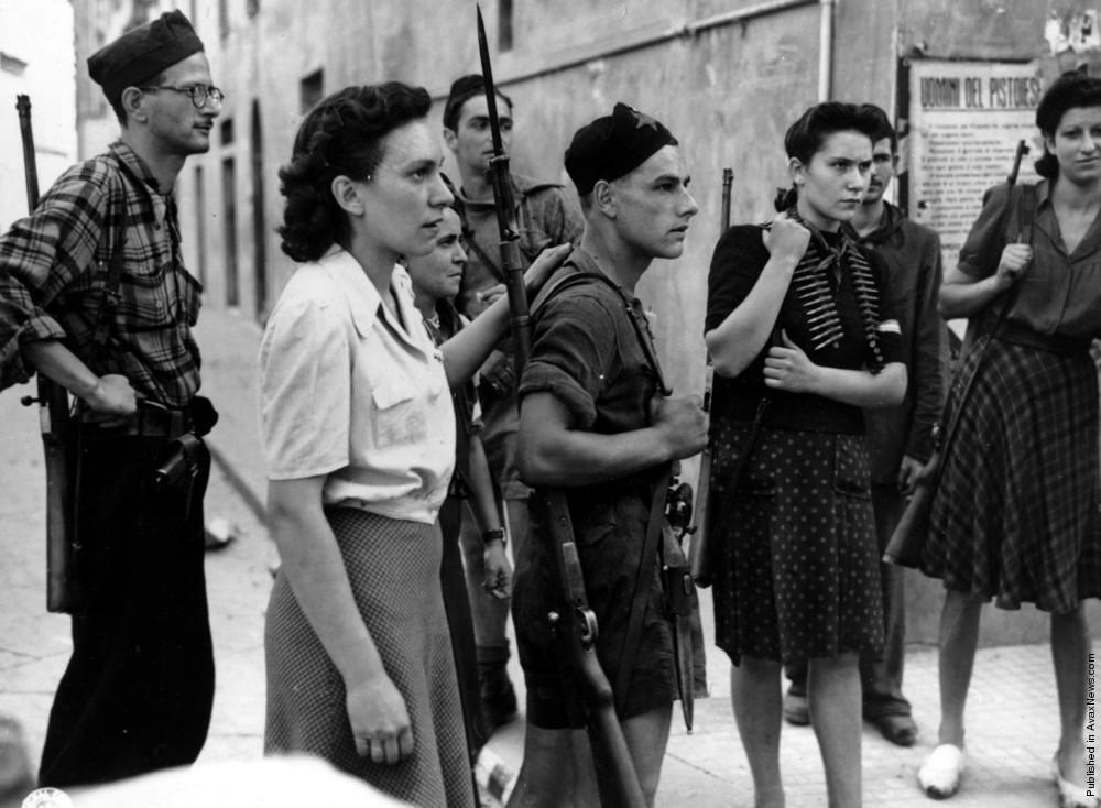 Итальянские партизаны (декабрь 1944 года)