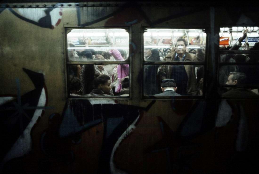Американский фотограф Christopher Morris: Граффити и андеграунд нью-йоркского метро (29)