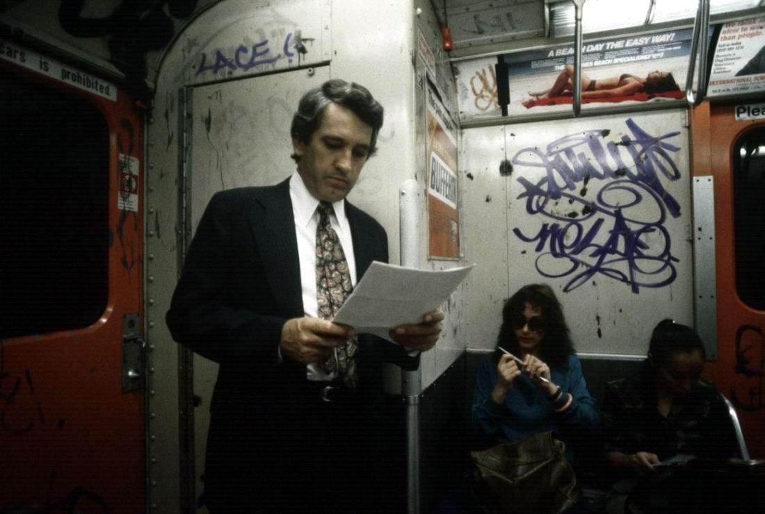 Американский фотограф Christopher Morris: Граффити и андеграунд нью-йоркского метро (33)