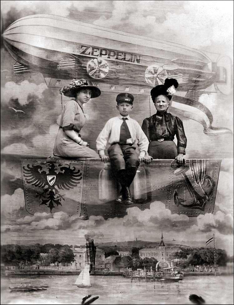 Художественные фоны для фотографий авиационной и воздухоплавательной тематики (6)