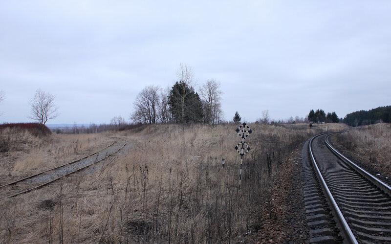 Подъездной путь от станции Новосокольники